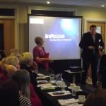 Jay Joynson presenting