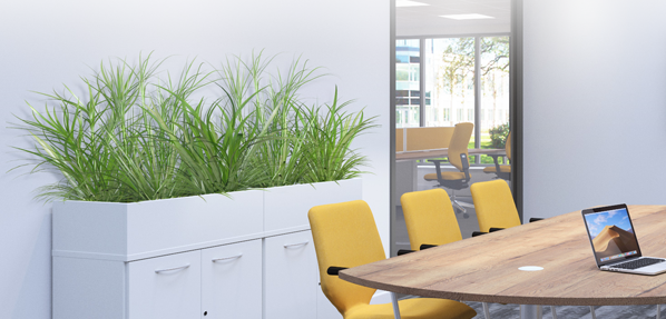 Office planters for the workplace